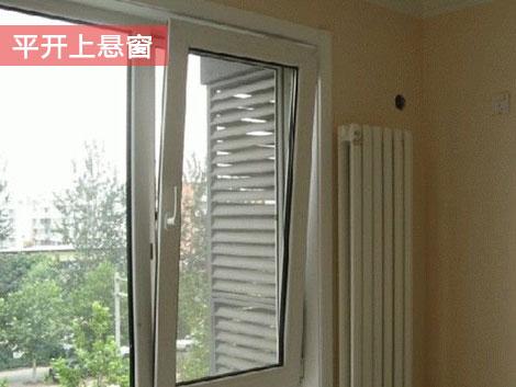 平开上悬窗